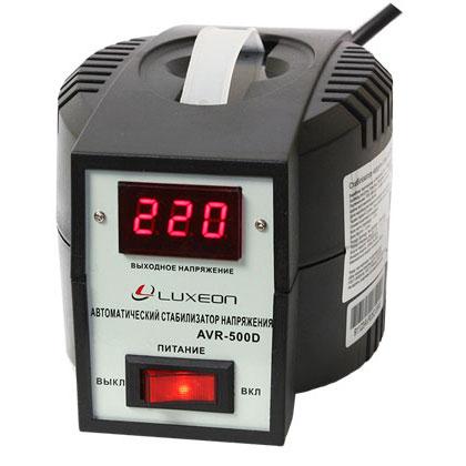 Стабілізатор напруги AVR-500D пот.0.5КВА (чорний)