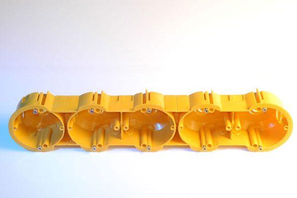 Коробка КМЕ 5-на  (цегла-бетон)