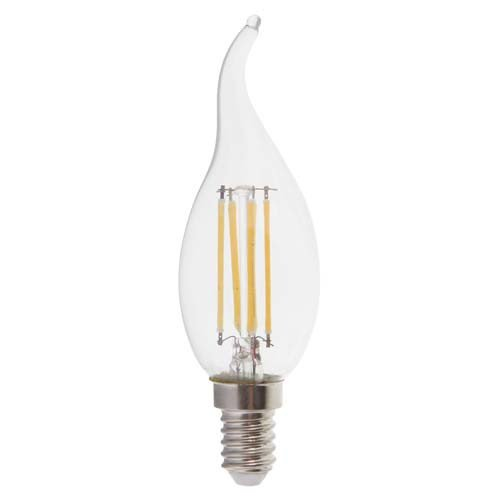 Лампа LED-нитка дим.CF37 4Вт 400LM Е14 230V 2700K LB-69 ТМ Ферон