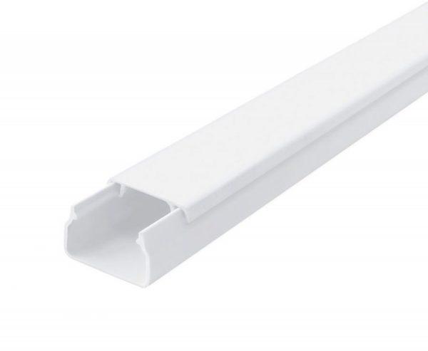 каб.канал TM ОМиС/220 білий 16х16 (ціна за планку 2м) 90шт/уп