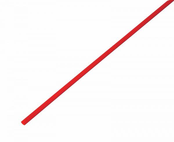 Трубка термозбіжна 2.0мм/1метр DRS-2  LXLчервоний