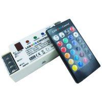 Контролер RGB з IR 12-24V 5A на канал (кнопки) RGB-LS-0958