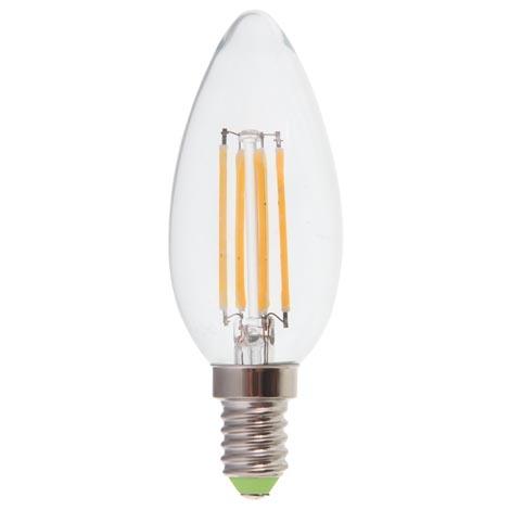 Лампа LED-нитка C37 4Вт 400LM Е14 230V 2700K LB-58