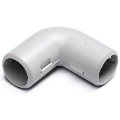 """З""""єднувач кутовий для труб 25мм (муфта кутова коліно) ІР40"""