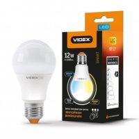 LED лампа A60eC3 12W E27 220V(з регулюванням кольору)
