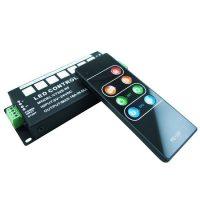 Контролер RGB з RF пультом 5-24V 6A на канал + кнопки на корпусі CT326
