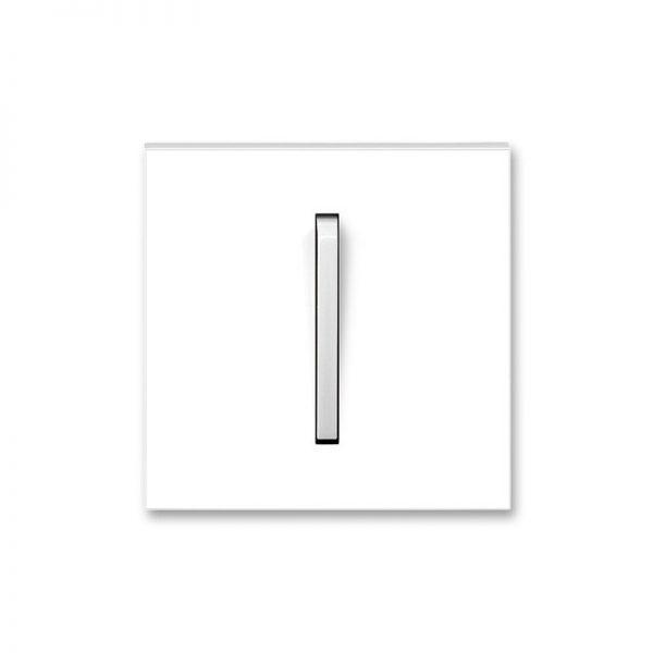 Клавіша NEO 1-кл. вимикача біла/біл. лід