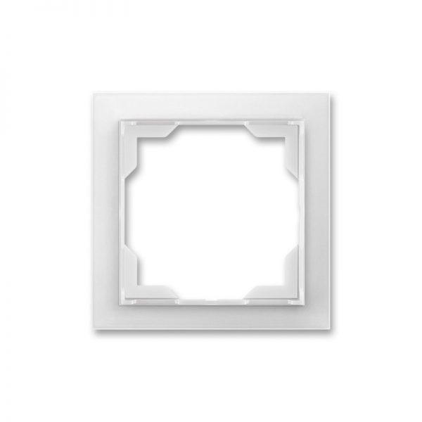 Рамка NEO 1-а біла/біл. лід