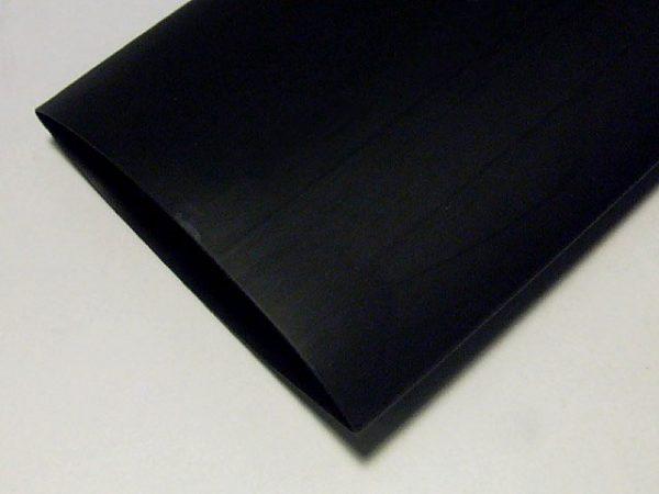 Трубка термозбіжна 50.0мм/1метр Delux чорна