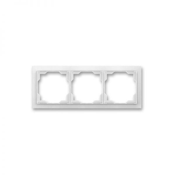 Рамка NEO 3-а біла/біл. лід