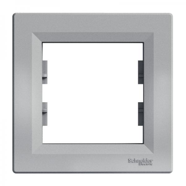 Рамка ASFORA 1-а горизонтальна алюміній