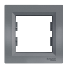Рамка ASFORA 1-на сталь