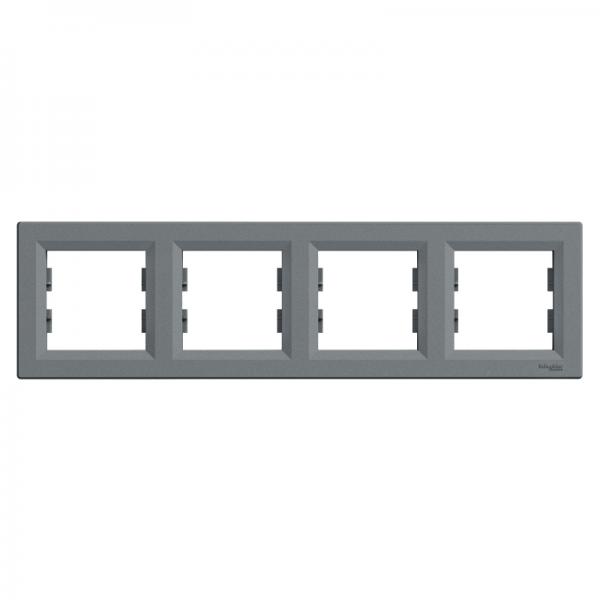 Рамка ASFORA 4-а горизонтальна сталь