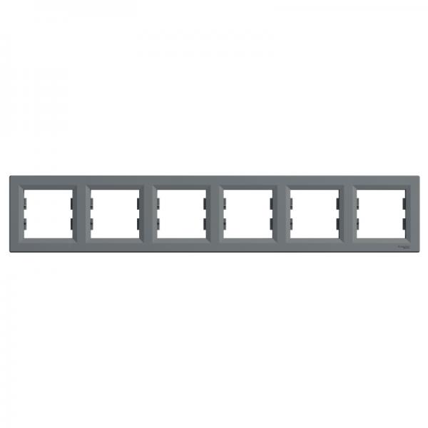 Рамка ASFORA 6-а горизонтальна сталь