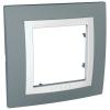 Рамка Uniсa Basic 1-а сірий техно