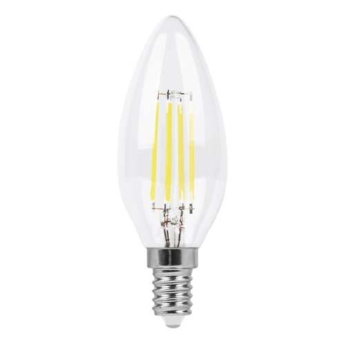 Лампа LED-нитка C37 6Вт 600LM Е14 230V 4000K LB-158 ТМ Ферон