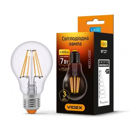 LED лампа Fіlament A60F 7W E27 4100K 220V (VL-A60F-07274)
