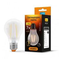 LED лампа Filament A60FMD 7W E27 4100K 220V димерна