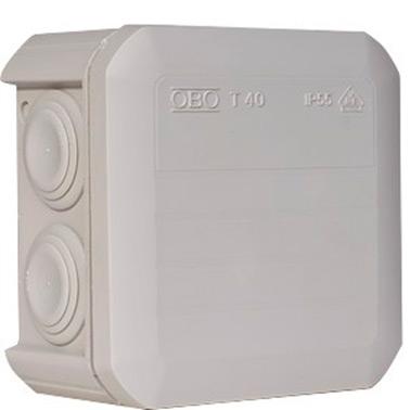 Коробка розп. Т40 90х90х52 OBO IP65