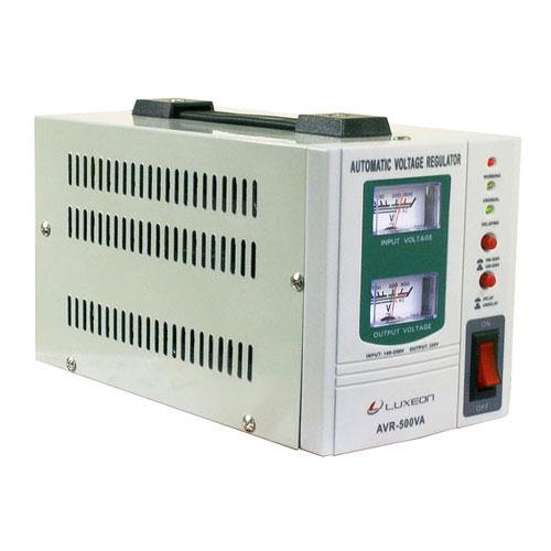 Стабілізатор напруги AVR-500 пот.0.5КВА (білий)