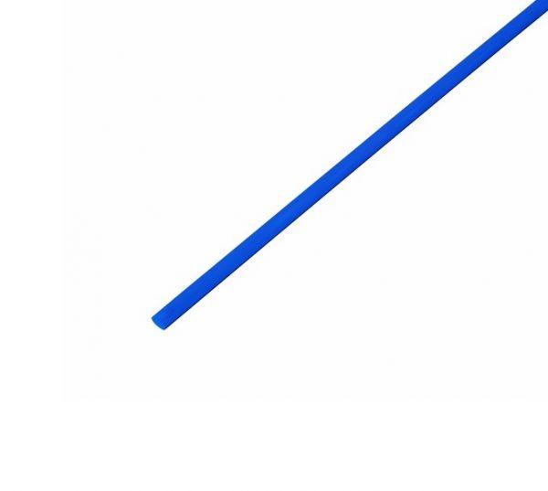 Трубка термозбіжна 4.0мм/1метр DRS-4  LXLсиня
