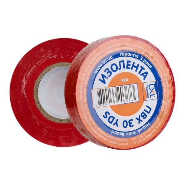Ізострічка LXL червона 0.13*19*27,43 м.