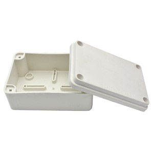 D.001р Коробка розподіл. 120*80*40 ІР44 зовн.з гумкою