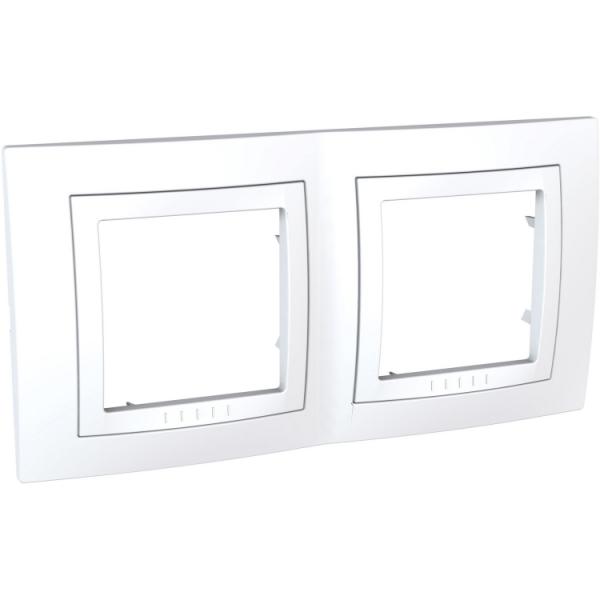 Рамка Uniсa Basic 2-а біла