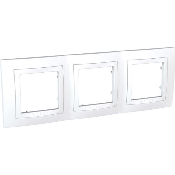 Рамка Uniсa Basic 3-а біла