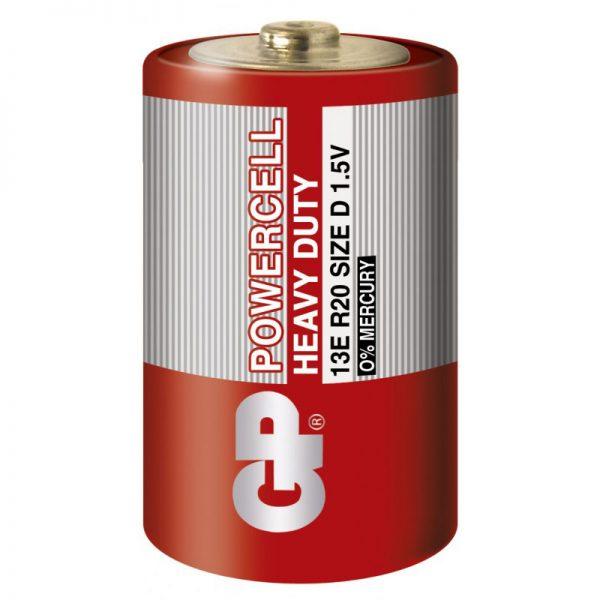 Батарейка GP R20 D 13E S2 сольова Powercell (20/200)