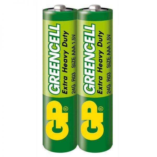 Бат.GP AАА сольова 24G S2 (2/200/1000) Greencell