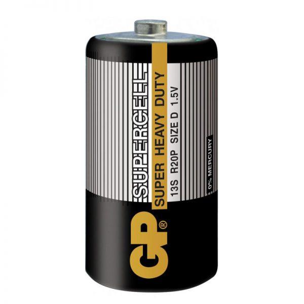 Батарейка GP R20 D 13S S2 Supercell (20/200)