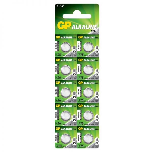 Батарейка GP A76-U10 (таблетка)