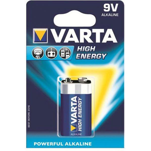 """Батарейка""""крона"""" High Energy/Long Life Power LR/9V/1 VARTA"""