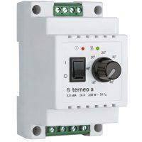 """Терморег. ДІН 10…40*C """"Terneo а"""" 16А (механічний)"""