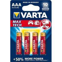 Батарейка AAA Max T./MAX Power Bli4 Alcaline VARTA