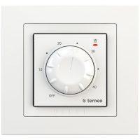 """Терморегулятор """"Terneo RTP"""" unic білий 16А (диск)"""