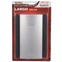 Дв.дзвінок GNS-208 LARGO сірий-графіт ТМ Zamel