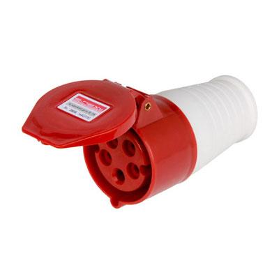 Силова роз.перен.5п.380В 16А (215) e.socket.pro.5.16