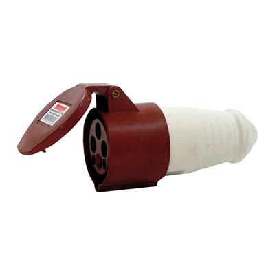 Силова роз.перен.5п.380В 32А (225) e.socket.pro.5.32