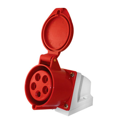 Силова роз.стаціон.5п.380В 16А (115) e.socket.pro.5.16