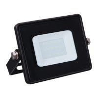 Прожектор LED 10W 15Led 6400K 230V IP65 чорний LL-991