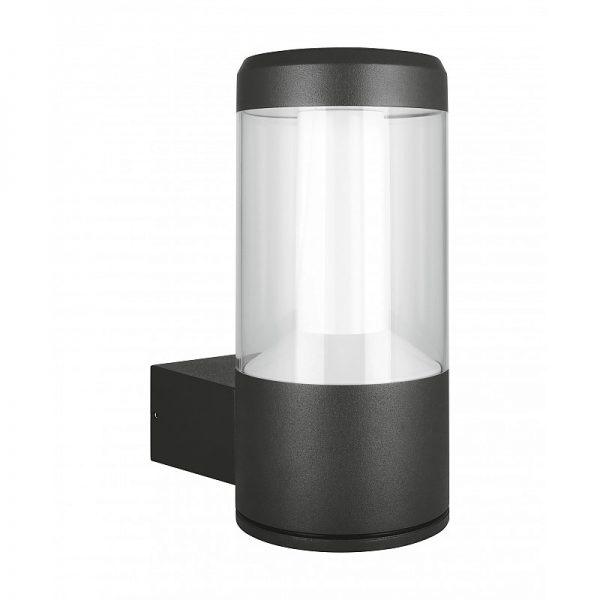 Св-к сад.-парк. Outdoor Facade Lantern 12W 3000K IP54 Dark Grey