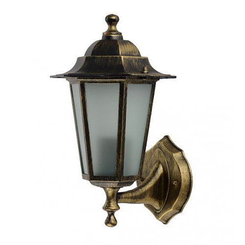Св.зовн. Delux Palace A01/A001 60W E27 чорн/золото