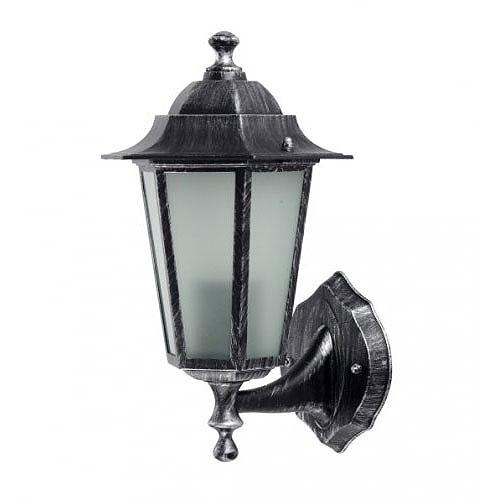 Св.зовн. Delux Palace A01 60W E27 чорн/срібло