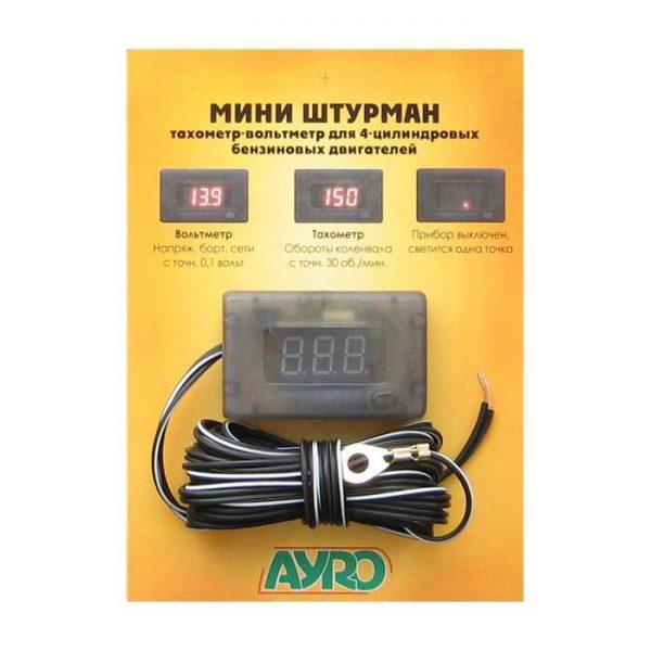 MINI Штурман (тахометер+вольтметер)