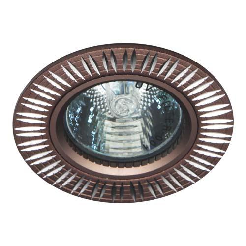 Св-к.точк.Ферон GS-M369 MR16/G5.3/ коричневий