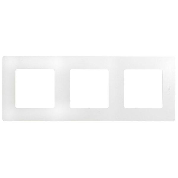 Рамка 3-постова білий Етіка