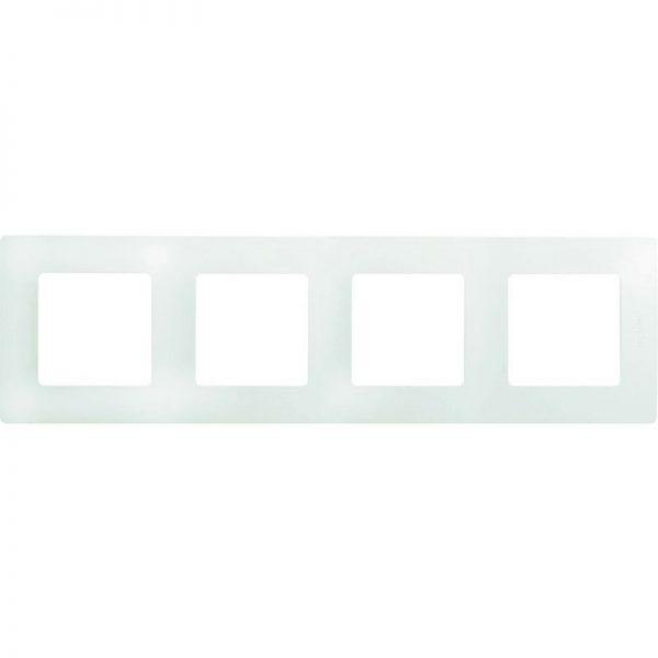 Рамка 4-постова білий Етіка