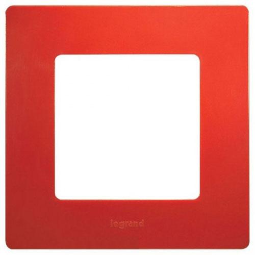 Рамка 1-постова Червоний Етіка